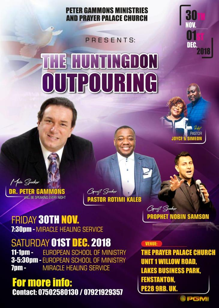 The Huntingdon Outpouring